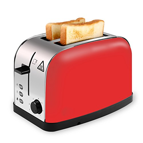 Retro Design Toaster  mit intuitiver Bedienung
