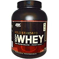 Optimum Gold Standard 100% Whey - Double Rich Chocolate - 5 lbs.