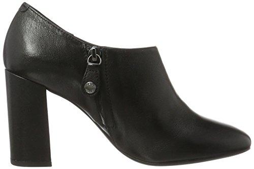 Geox D743XB00085, Stivali Alla Caviglia con Tacco Donna Nero (Black)