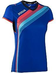 Joma - Camiseta elite v royal m/c para mujer
