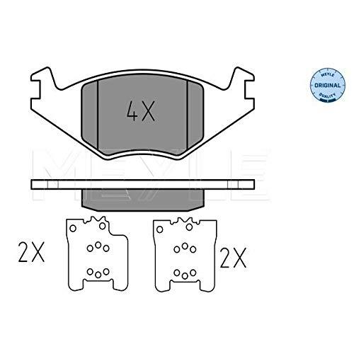Meyle 025 208 8917 Kit de plaquettes de frein, frein à disque