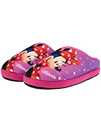 Minnie - Chaussons Minnie avec scratch - (Rose - 28) w9Ang0