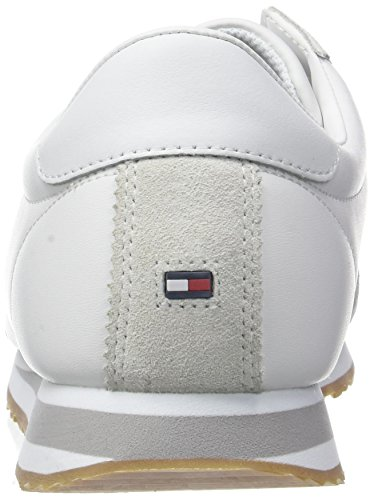 Tommy Hilfiger Herren Core Corporate Sneaker Weiß (White 100)