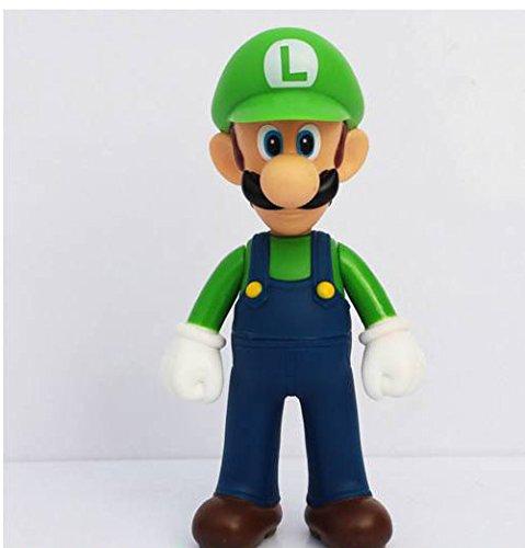 3pcs/set Super Mario Bros Luigi Mario Yoshi PVC Action Figures toy 13cm by Brand New 5
