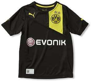 Puma Kinder Trikot BVB Away Replica, black-blazing yellow, 140, 741452 01