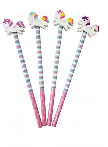 Einhorn Bleistift mit Radiergummi