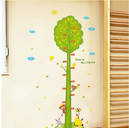 Lbonb Árbol Verde Animales Niños Niños Niños Medidores