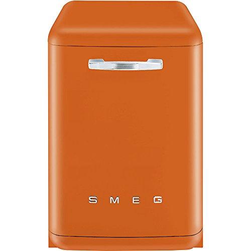 Smeg LVFABOR Stand Geschirrspüler Orange Spülmaschine Halbe Beladung Retro A+++