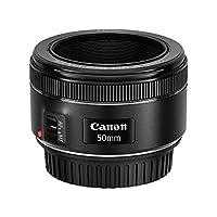 Canon - 0570C005AA EF 50mm f/1.8 STM Lens - Black