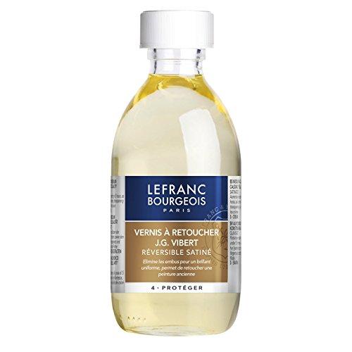 Lefranc & Bourgeois Retuschierfirnis J.G. Vibert, geeignet für alle Ölfarben, 250 ml Flasche