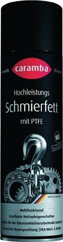 Preisvergleich Produktbild Caramba Profi Hochleistungs Schmierfett mit PTFE 500 ml Sprühfett Mehrzweckfett (64181601)