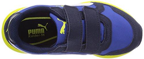 Puma - Future ST Runner V Kids, Sneaker basse Unisex – Bambini Blu (Blau (strong blue-white-peacoat 02))