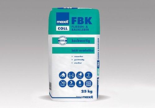 maxit coll FBK - Fliesen- und Baukleber, 25kg