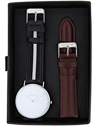 BLACK OAK Reloj con movimiento cuarzo japonés Man BX58904SET-142 40 mm