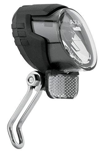 AXA Fahrradscheinwerfer LED- Scheinwerfer Luxx70 Steady Auto, Schwarz, 939871