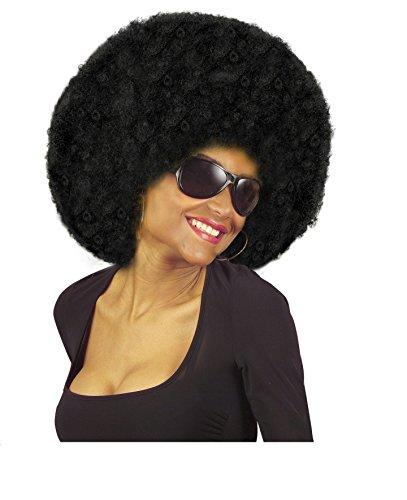 PERÜCKE - REGGAE - schwarz, Unisex Karibik Pop (Kostüm Perücke Pop Art)