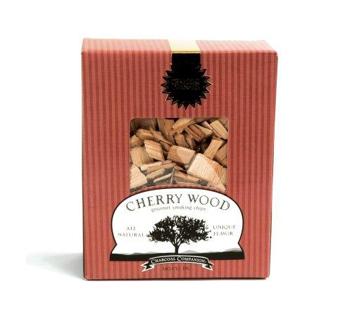Charcoal companion trucioli di legno di ciliegio per affumicatura gourmet