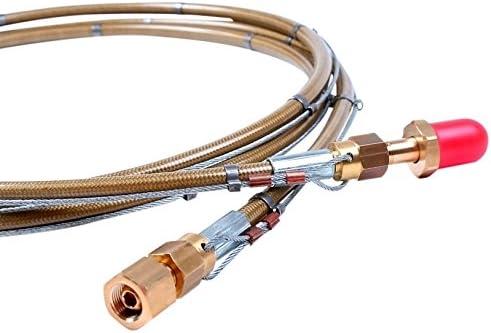 AES w.1067-in-2000 ad alta pressione con tubo del gas gas gas inerte 2 m anti-whip cavo x 5 8RH x 3 8RH, 300 bar   Di Qualità Dei Prodotti    Portare-resistendo    Moderno Ed Elegante Nella Moda    Meraviglioso    Prezzo Pazzesco    Stravagante    Italia   c98cb4