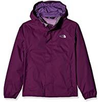 The North Face Resolve–Chaqueta para niña, color Wood Violet, tamaño L