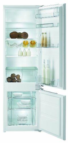 Gorenje RKI 5181 AW Einbau-Kühl-Gefrier-Kombination  A  Höhe: 177,5 cm  Kühlteil: 223 L  Gefrierteil: 61 L  weiß  FreshZone-Schubfach  Flaschengitter