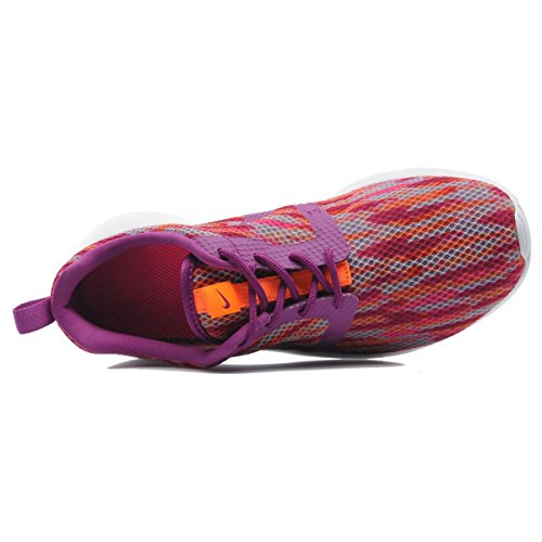 Nike Roshe One Flight Weight Gs, Entraînement de course fille white-bold berry-total orange-pink pow