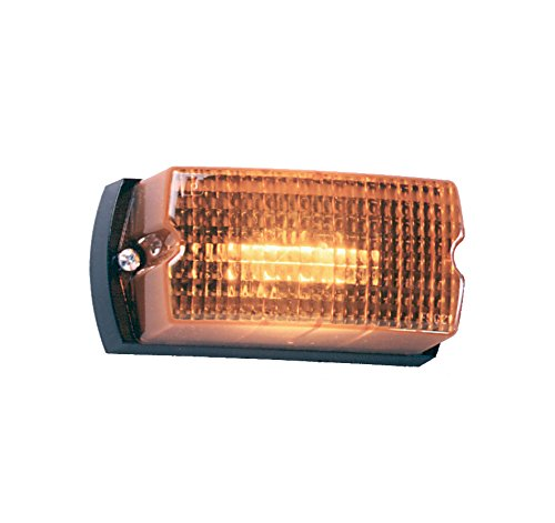 Federal Signal LP1-012A Streamline Low Profile Mini Strobe Light, Surface Mount, 12 VDC, Amber by Federal Signal -