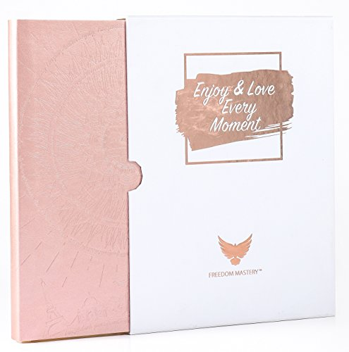 Deluxe Law of Attraction Life Planner - 2018 Planner to Increase Productivity & Happiness - Weekly Diary, Organizer & Gratitude Journal (Undated, Rose Gold) + GIFT BOX + BONUS Planner Stickers