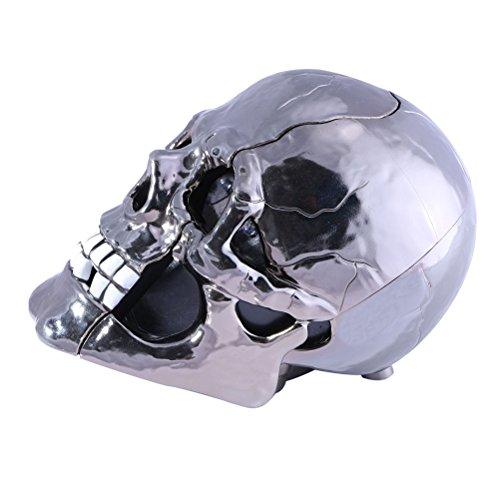 Vicloon AR-5053 Estilo de Esqueleto Teléfono con Cable de Línea Fija LED Teléfono Fijo (Negro o Blanco)