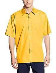 Premier Workwear Poplin Short Sleeve Shirt, Camisa Para Hombre