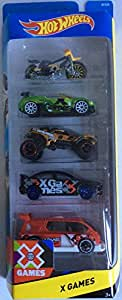 Hot Wheels 5 Car Pack - X Games BFB38