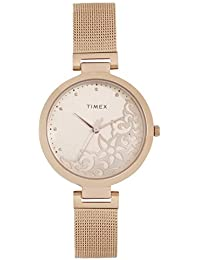 Timex Analog White Dial Women's Watch-TW000X219