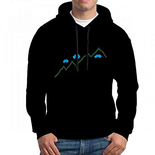 ruziniujidiangongsi Sweatshirt for Men Mt Hoodie