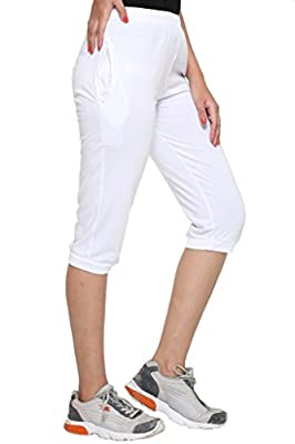 VIMAL Cotton Blended Women's Capri(Pack of 2)