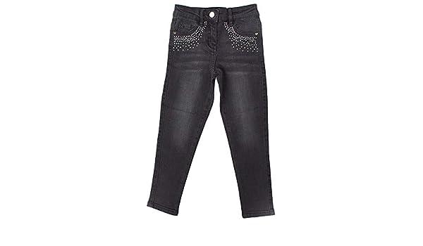 Get Wivvit Girls Jeans Black Fade Wash Denim Gem Stud Pocket Slim Leg Sizes from 4 to 14 Years
