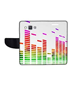 KolorEdge Printed Flip Cover For Samsung Galaxy A3 Multicolor - (45KeMLogo11532SamA3)