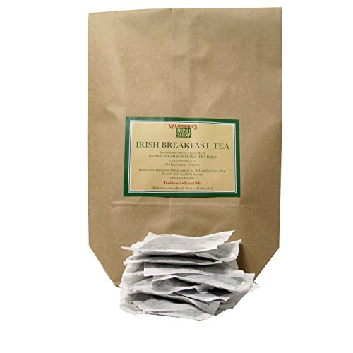 McLaughlin's Irish Shop Irischer Tee. 100 Teebeutel Super Tea bags (Freiheit Mens Tee)