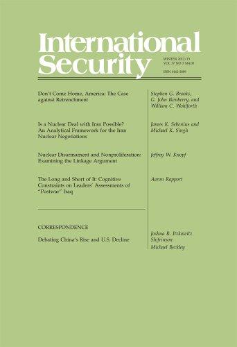 International Security 37:3 (Winter 2012/13)