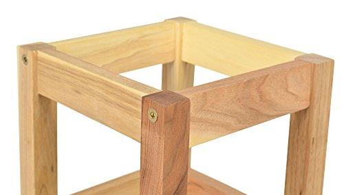 Portaombrelli – legno di noce massello – umbrella