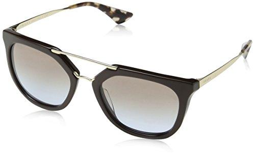 Prada Damen Cinema PR13QS Sonnenbrille, Braun (Brown DHO4S2), One size (Herstellergröße: 54)