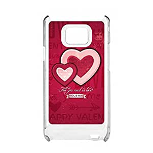 a AND b Designer Printed Mobile Back Cover / Back Case For Samsung Galaxy S2 (SG_S2_680)