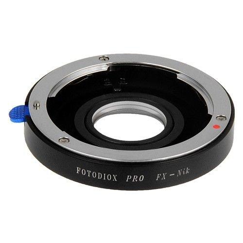 Fotodiox Pro-Adattatore per fotocamera Nikon, Fuji X-Mount come D7200, D5000, D3000e D300s