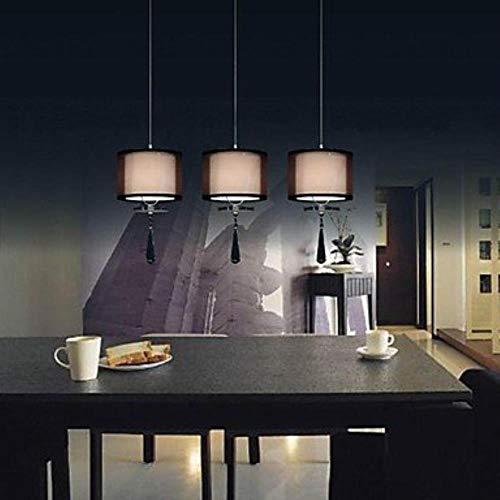 DDdawanjia 40 watt modern/Contemporary Chrome Metal Pendant lamp Bedroom/Kitchen/Children's Room/Game Room - Chrome Kronleuchter