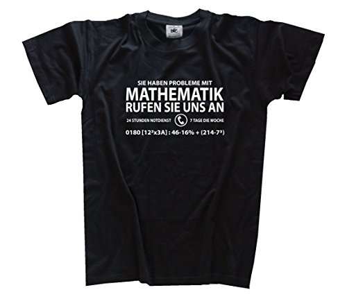 Sie haben Probleme mit Mathematik Kids Shirt Kinder-Shirt Schwarz 146