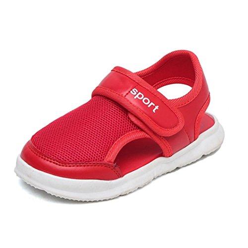 MEIbax 2033 Mode Jungen Mädchen Brief Schuhe Mesh -