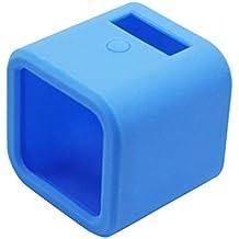 Goliton Morbida gomma di silicone della copertura della cassa della protezione della pelle per GOPRO HERO 4 Session/5 Session Camera-blu