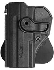 IMI Defense Z1290 Gaucher tactique Rétention Holster caché portez ROTO rotation étui de revolver pour Sig Sauer SP2022/SP2009/220/226/227/228/MK25/P226 Combat, P226 Tacops Main gauche