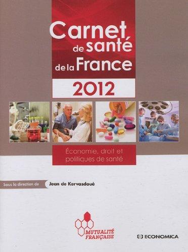 Carnet de santé de la France 2012