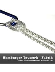 PPM Flechtleine 3,0mm - 100mtr Rolle in vielen Farben (Weiß) / Seil, Tauwerk, Leine