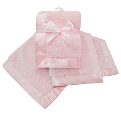 american-baby-company-sherpa-receiving-blanket-pink-by-american-baby-company