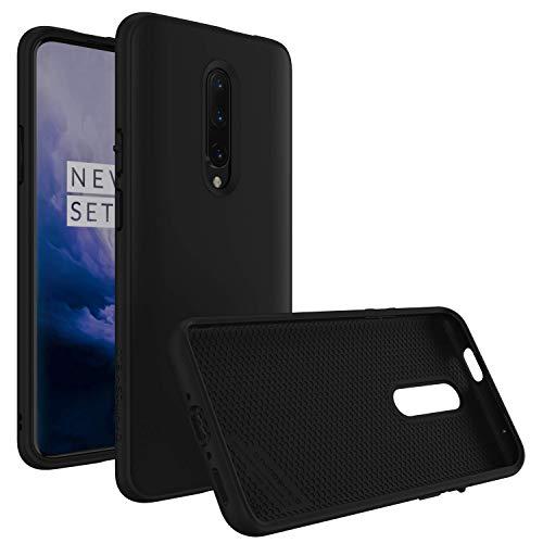 RhinoShield Coque pour OnePlus 7 Pro [SolidSuit] Housse Fine avec Technologie Absorption des Chocs & Finition Premium - [Résiste aux Chutes de Plus de 3,5 mètres] - Noir Classic
